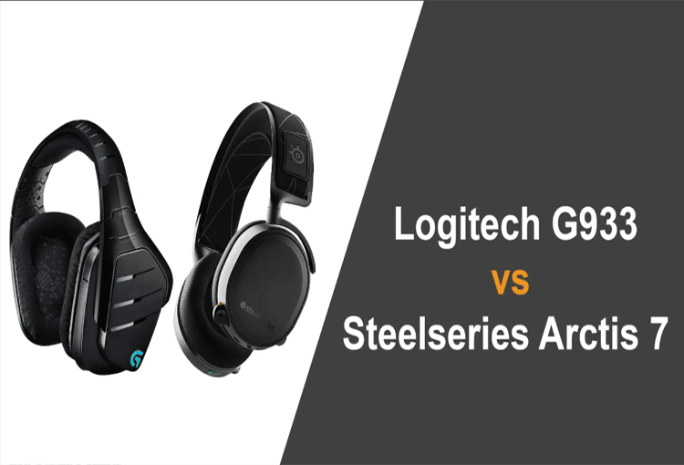 steelseries arctis 7 vs logitech g933